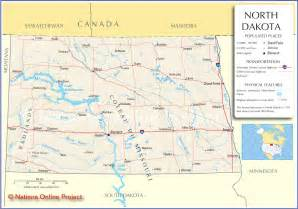 maps of dakota reference map of dakota usa