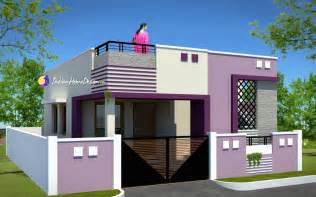 good Small 2 Bedroom House Floor Plans #6: ContemporaryLowcost800sqft2BhkTamilNaduSmallHomeDesignbyNSArchitect-1024x638.jpg