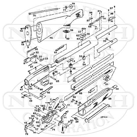 remington 66 parts diagram remington model 7400 diagram m4 carbine diagram elsavadorla
