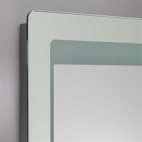 roper rhodes gamma designer illuminated bathroom mirror buy roper rhodes gamma backlit bathroom mirror john lewis