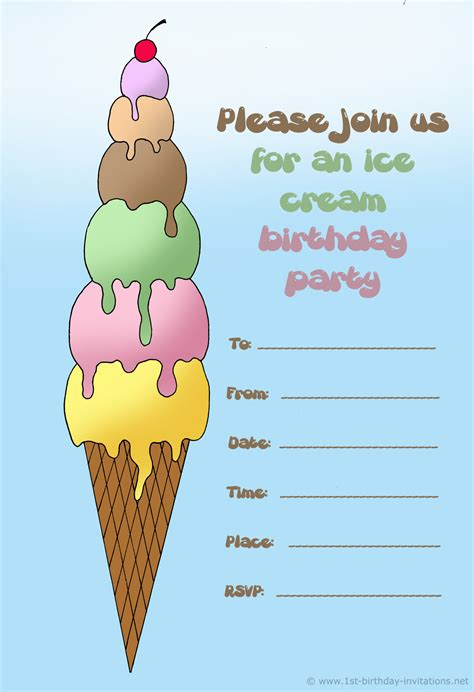 printable invitations birthday 14 printable birthday invitations many fun themes 1st