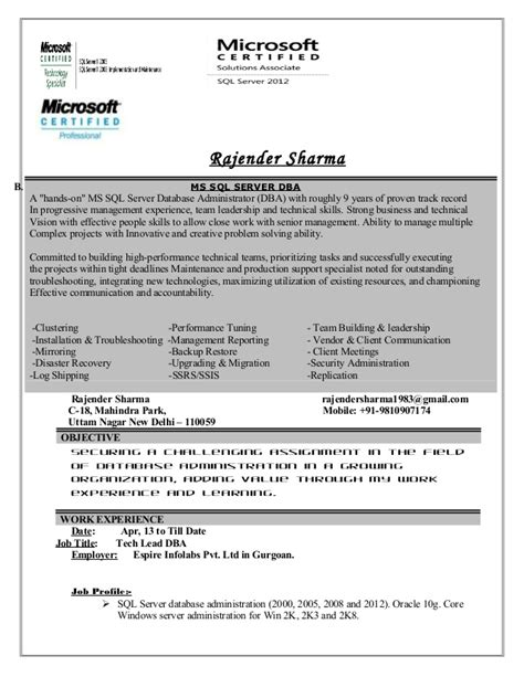 rajender resume updated