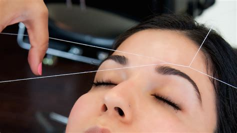 187 the art of eyebrow threading