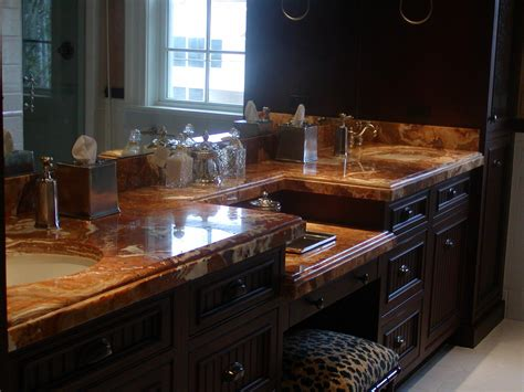 Marble As A Countertop by Marble And Onyx Countertops Adp Surfaces