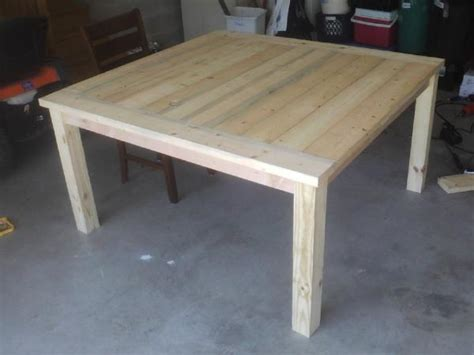 building square farmhouse table doityourself