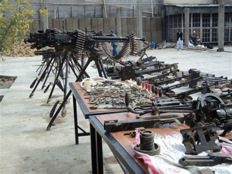 arsenal of weapons a confiscated arsenal of weapons 9 pics izismile com