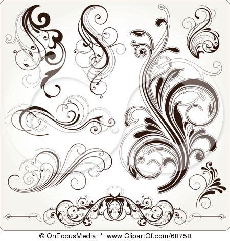 scrolling tattoo designs scroll tattoos on filigree small