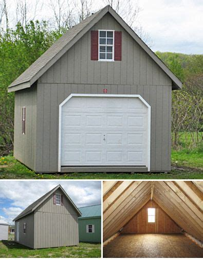 single garage plans 2 story single garage barns and garages pinterest