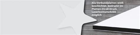 Werbeschild Drucken Online by Werbeschilder Alu Dibond Drucken Lassen G 252 Nstig Online Bei