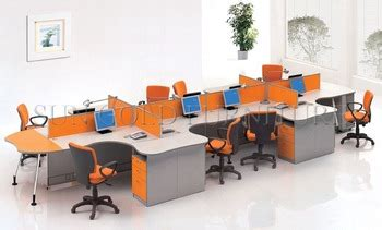 Best Seller Ganci Senter top selling wholesales 8 seater call center workstation cubicle for small office sz ws381