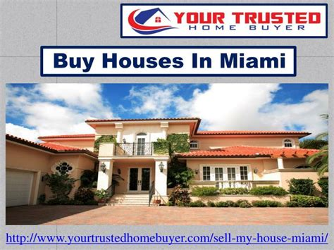 buy house miami ppt buy houses in miami powerpoint presentation id 7501813