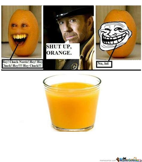 Orange Meme - anoying orange by alangarcia meme center