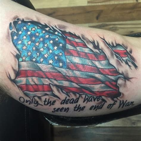 american flag back tattoos 85 best patriotic american flag tattoos i usa 2018