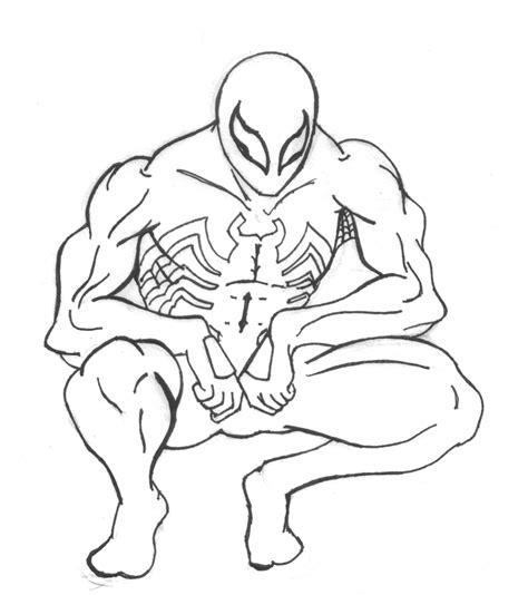 free printable venom coloring pages printable spiderman coloring pages venom spider man
