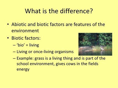 exle of biotic factors abiotic exles images