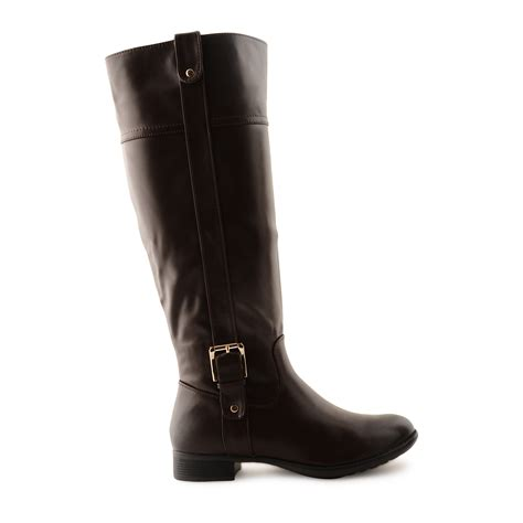 new knee high boots womens casual comfy quilted zip