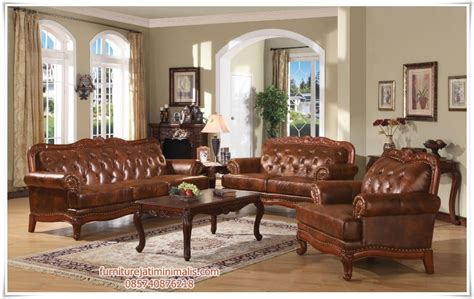 sofa kulit sofa tamu jati model kulit sofa tamu sofa tamu jati