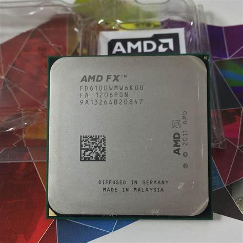 Prozessor Sockel amd fx 6100 3 3ghz l3 8 mb six cpu prozessor sockel am3 938 pin fx serielle fx 6100 cpu