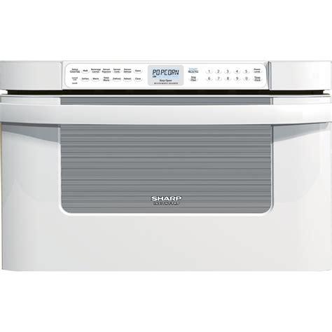 sharp microwave drawer 24 white sharp 24 1 2 cu ft microwave drawer oven white yaxo
