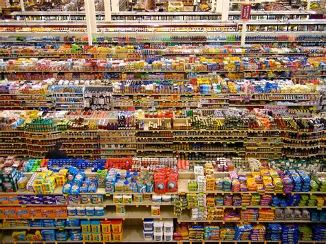 grocery store shelves profiling abcs of warehousing and distribution