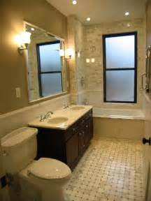brownstone renovation master bath traditional