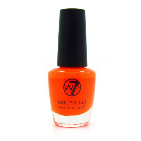 Skin Food Fruit Drink Nail 5 Orange w7 nail 13 fluorescent orange 15 ml 163 1 25