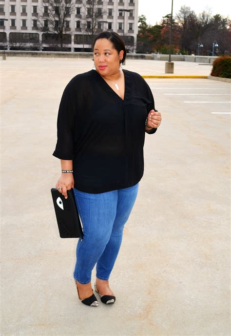 Blouse Ootd personal style denim and sheer blouse onecklace nic