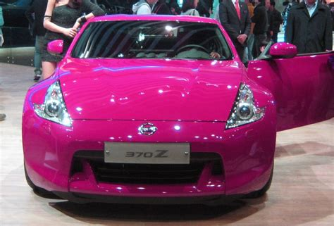 Pink Kia Pink Nissan 370z Coupe By Kia Motors On Deviantart