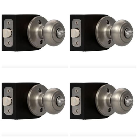 bathroom door knob privacy door knob lock interior bathroom bedroom satin