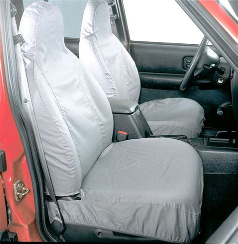 2004 jeep grand limited seat covers covercraft ss2352pcgy covercraft front seat savers for