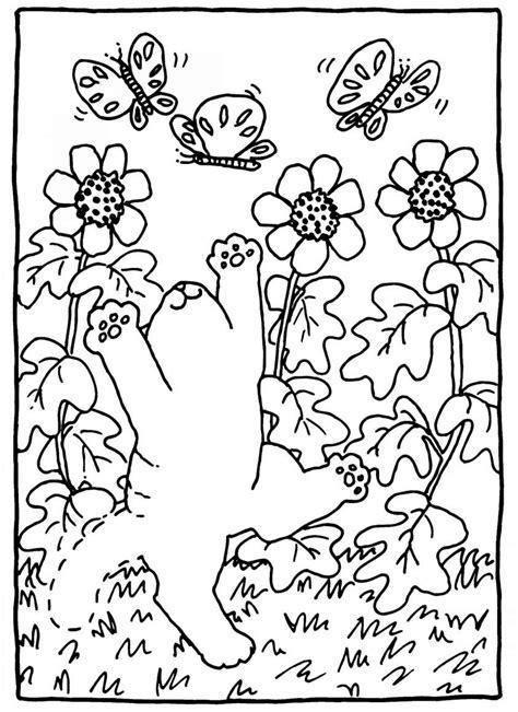 fiori primavera da colorare disegni per la primavera da colorare foto nanopress donna
