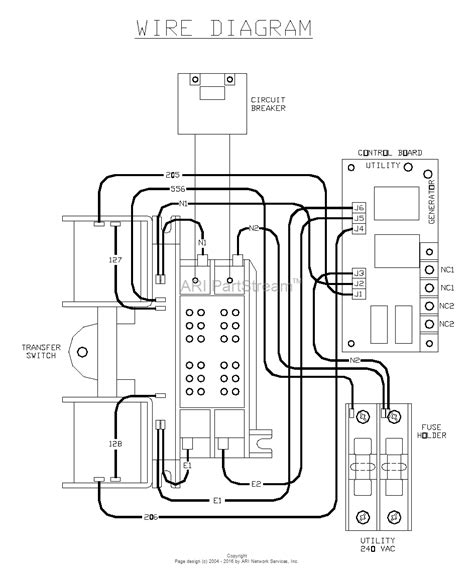 wiring diagram for generac transfer switch wiring wiring
