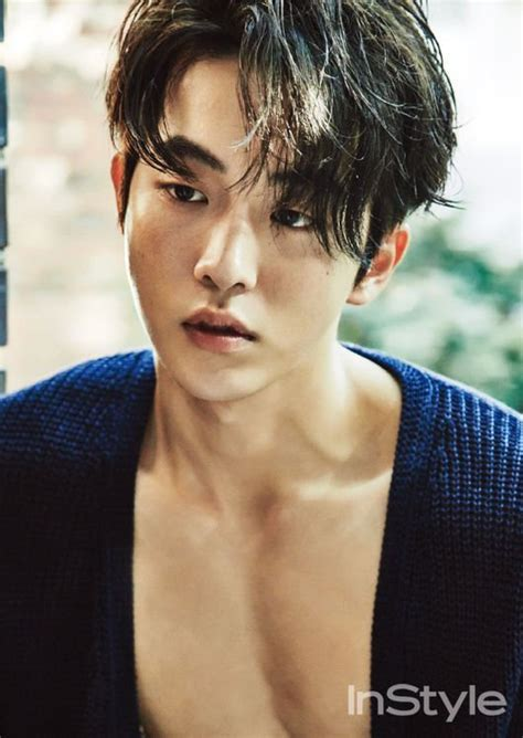 nam joo hyuk is all man in his new instyle shoot
