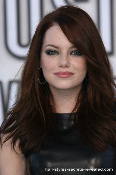emma stone brown hair emma stone brown hair google search photo ideas