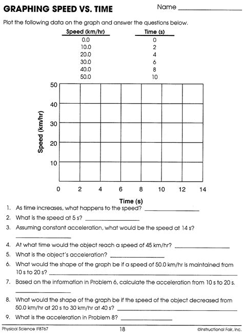 Physical Science Worksheet Answers by Worksheets Physical Science Worksheets Opossumsoft