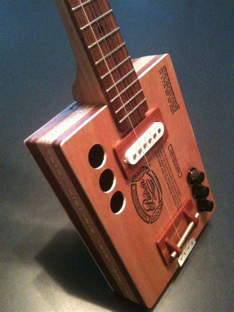 Handmade Cigar Box Guitars - custom cigar box guitar padron 9 by garbocks guitars