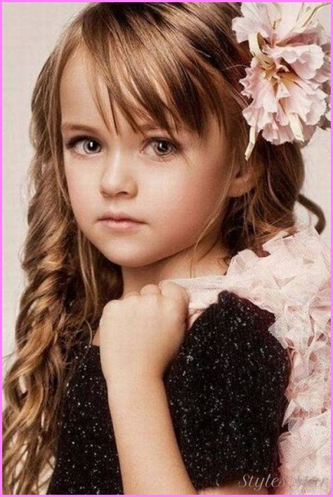 flower girl hairstyles long curly hair long haircuts for young girls stylesstar com