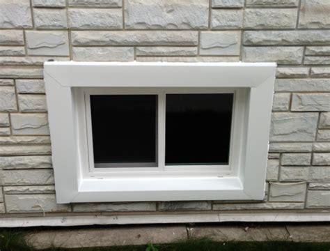 install basement window basement windows installation plainfield il window contractor