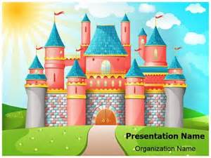 disney castle powerpoint template background