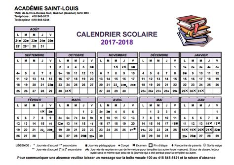 Academie Ste Therese Calendrier Scolaire Calendrier Scolaire Acad 233 Mie Louis