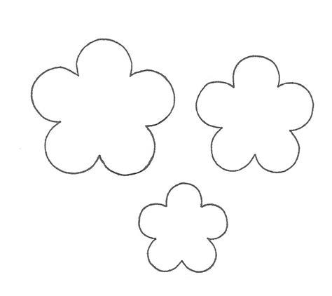 paper cut out templates flowers 7 best images of 3d flowers templates printables paper