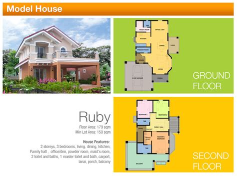 House Plans Bungalow floor plans camella homes tarlac