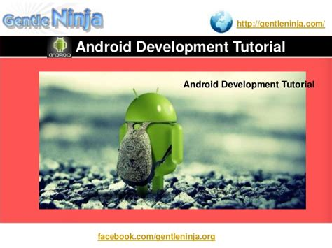 android tutorial for beginners android development tutorial for beginners