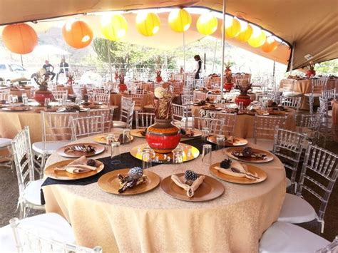 bridal shower decor ideas south africa traditional wedding decor afrikan makoti media