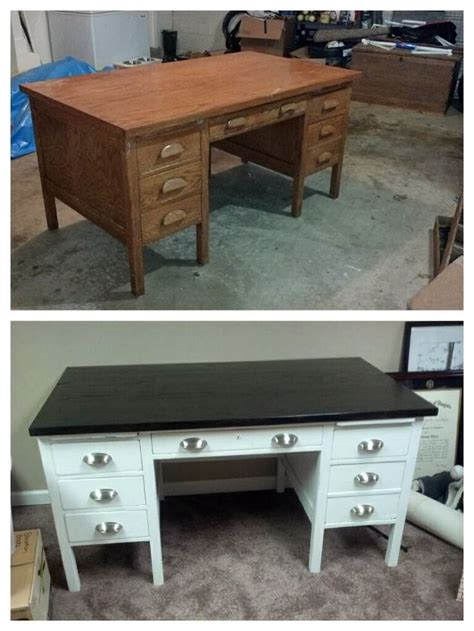 25 best ideas about refurbished desk on