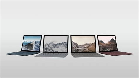 Surface Laptop images leak ahead of Microsoft's event