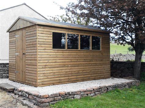 Bases For Garden Sheds by Morton Garden Buildings Ltd Cumbria Gazebos Garden