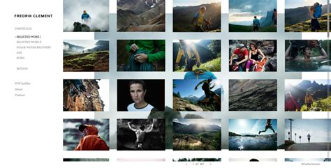 photography portfolio layout ideas 40 great photographer portfolio websites for inspiration