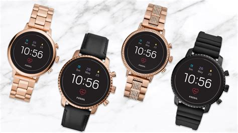 Fossil New fossil launches new range of smart watches price starts