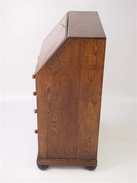 bureau vintage small vintage oak bureau